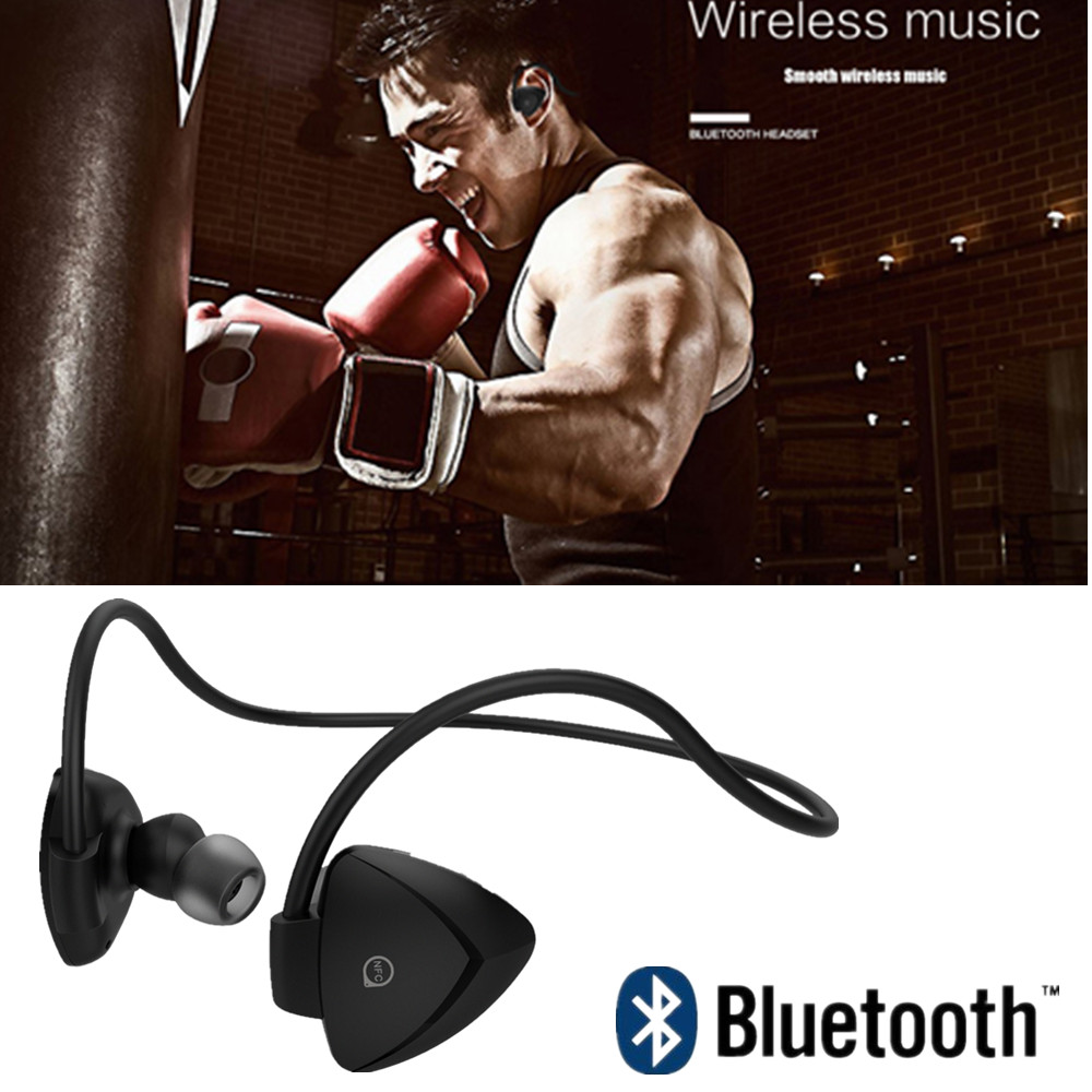 New Arrival Wireless Smart Sports Headphones Bluetooth 4 Sweat proof for IPhone Android mp3 mp4 iPad iPod With Microphone<br>