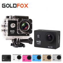 "Action Camera WIFI 12MP Full HD 1080P 30FPS 2.0""LCD Diving 30M Waterproof Sport Camera mini go cam pro hero Style camera"