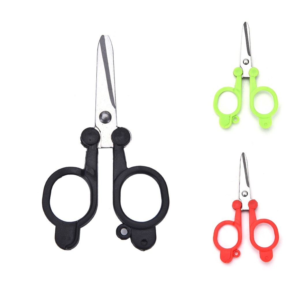 Useful Trimming Scissors Nippers Clippers Sewing Embroidery Yarn Stainless Steel folding small scissors