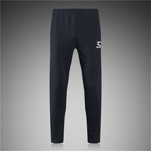 Jogger Pants Football Training 2016 Soccer Pants Active Jogging Trousers Sport Running Track GYM clothing Men's Sweatpant S-XL