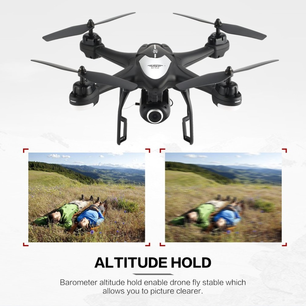 SJ R/C S30W 2.4G Dual GPS Positioning FPV RC Quadcopter Drone with 7P Adjustable Wide Angle Wifi Camera Follow Me Hovering 5