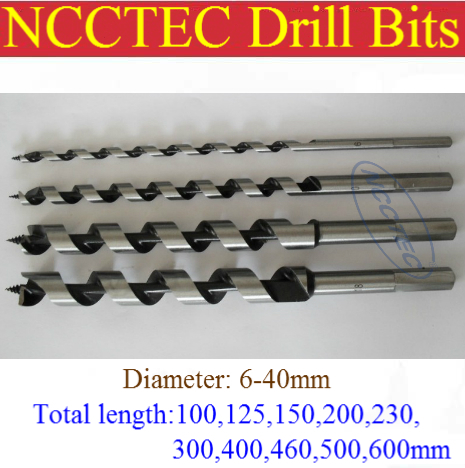 [30*350mm length] 30mm diameter wood screws drill bits | 1.17  1-11/64  * 14 woodworking Spiral drill tools FREE shipping<br><br>Aliexpress