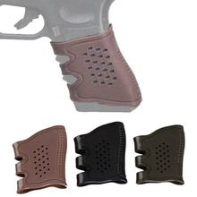 Tactical Holster Pistol Rubber Grips Anti Slip Glove For Glock 17 19 20 21 22 32