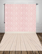 Art fabric pink damask cloth photography backdrop computer Printing backgrounds for photo studio newborn Gift XT-2341