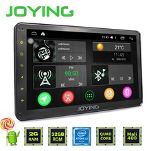 "Joying 10.1"" 2GB+32GB Car Stereo Autoradio GPS Navigation For Universal Single 1 Din Android 5.1 Quad Core 1024*600 Head Unit"