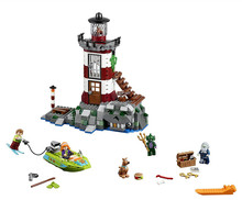 10431 compatible Scooby Doo haze lighthouse 75903 building block diagram children's toys educational toys(China)