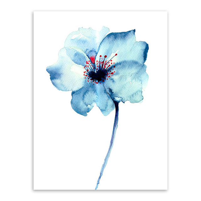Modern-Watercolor-Beautiful-Plant-Flower-Floral-Rose-Canvas-A4-Art-Print-Poster-Nordic-Wall-Picture-Home.jpg_640x640 (4)