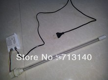 DIY WHOLE UV WATER TREATMENT LAMP KITS WITH BALLAST AND QUARTZ  SLEEVE AND PARTZ 436MM LENGTH 25W 110V OR 220V FOR YOUR WATER