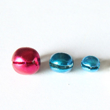 6/8/10MM New 100 pcs/lot Mix Colors Loose Beads Small Jingle Bells Christmas Decoration Gift Wholesale