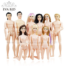 1/6 BJD Doll Female 29cm / Male 30cm Naked 10/12/14 jointed Dolls for girls boys Toy Doll Gift (No clothes shoes) EVA BJD DB002