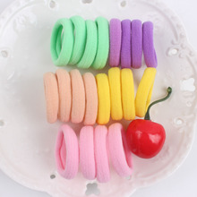 20Pcs /lot Hair Holders High Quality Candy Colored Rubber Bands Hair Elastics Accessories Girl KIDS Tie Gum Hair Styling 2017(China)