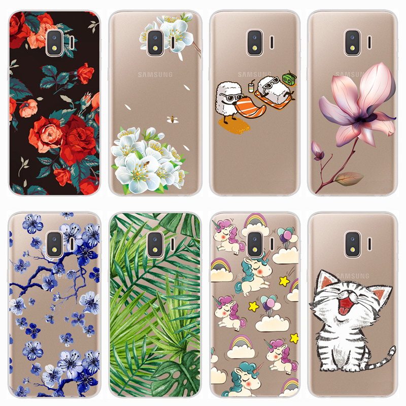 Soft Case For Samsung Galaxy J2 Core 2018 Case Colorful Printing Silicone Phone Back Cases Cover For Samsung J2 Core 2018 J260F(China)