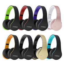Andoer Wireless Bluetooth Headphone Digital Stereo Bluetooth EDR Headset MP3 Player sport Headphone FM Radio for Smart Phones(China)