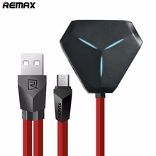 Remax High Speed ALIEN Design USB 3 Hub USB Ports 1 Micro USB Port OTG Compatiable LED Flash Light