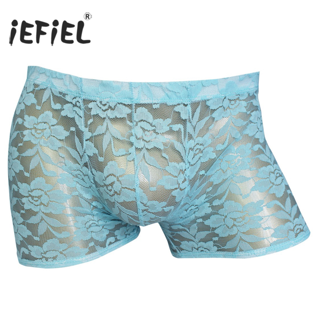 3pcs Trunk Mens Boxers Thong Open Butt Sexy Underwear Men Underpants Male Panties Shorts U Convex Pouch Gay Breathable Boxers Attractive Fashion Men's Underwear Briefs