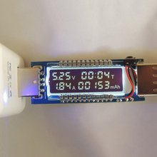 USB Charger Current Voltage Charging Detector Mobile Power Current and Voltmeter Ammeter Voltage