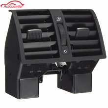 Car Centre Console Rear AC Air Vent Outlet For VW Touran 2003-2015 Caddy 2004-2015 OEM 1T0819203 Plastic Black(China)