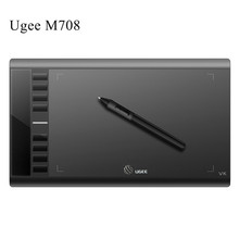 UGEE M708 Digital Tablets Graphics Drawing Tablet 10*6 Inch with Wireless Pen Free Shipping