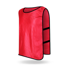 HIMIPOPO Children Outwear Football Training Vest Kids Sports Accessories Boys Soccer Team Jerseys Training Pinnies Breathable