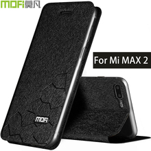 xiaomi mi max2 max 2 case mofi book cover flip leather xiomi max 2 matte luxury fundas mi max 2 coque xiaomi max2 accessories(China)