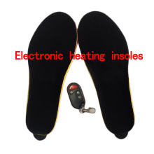 Electronic heating insoles 2300 ma Winter Shoes Boots Pad With Remote Control men and women free shipping size 41-46