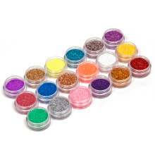 18Colors/set Nail Art acrylic Glitter Kit Acrylic UV Powder Dust gem Polish Nail Tool  Nail Art Tip Decoration Best Selling