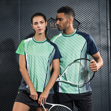 Women/Men table tennis clothes team training T Shirts jerseys Sportswear Quick Dry breathable Volleyball badminton shirt(China)