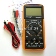 DT9208A LCD Display Professional Handheld Voltmeter Ammeter Ohmmeter Capacitance Meter Temperature Tester Digital Multimeter(China)