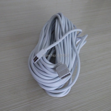 10 Meter RGB 4 Pin Cable Extend LED Strip Light  Line Extension Wire Cord Connector Adapter - 100PCS