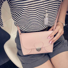 2017 New Women Faux Leather Bag Handbag Crossbody Shoulder Messenger Bag Fashion Casual Simple Design Mini Women Bags
