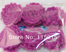 50pcs/lot Free Shipping 1'' Tiny Felt Flower Without Clips Hair Accessories Children Hair Flower -U PICK COLORS(China)