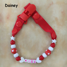 Buy Baby Pacifier Clip Chain Ribbon Holder Chupetas Soother Pacifier Clips Leash Strap Nipple Holder Infant Feeding BNZ12 for $1.39 in AliExpress store
