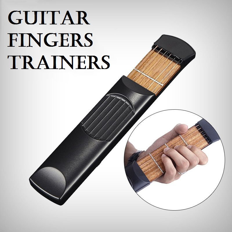 Portable guitar strings trainers, hand and chord transformation practice tool, guitar fingers training aids<br><br>Aliexpress