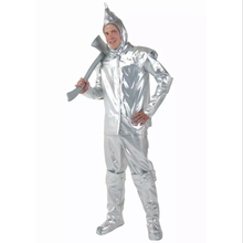Halloween Costume Performance Clothing Tin Man Iron Man Suit The Wizard of Oz Role Cloth for Adult and Child