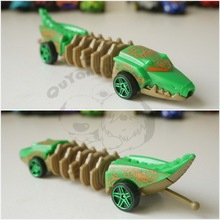 Hot Loose New Wheels Mutant Machines Diecast 1:55 Green Crocodile Toy Car Best Gift for Child