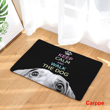 Doormat Carpets Creative Personality Dog Print Mats Floor Kitchen Bathroom Rugs 40X60or50x80cm