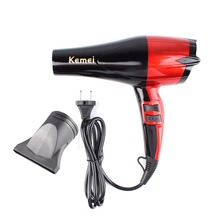 Kemei Travel Household Hair Dryer Professional 950W Hairstyling Tools 220V Hairdryer Blow Dryer Hot and Cold EU Plug #242115(China)
