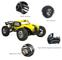 HBX 12891 Thruster 1:12 RC Car 2.4GHz 4CH 4WD Drift Remote Control Car RTR Desert Car Off-road High Low Speed 40km/h RC Car