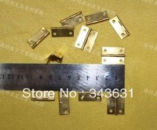 100pcs High Quality Brass  Mini 24*19*0.7mm 4 Hole Door Hinges
