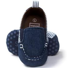 ROMIRUS Baby Boy Shoes Slip-on Blue Casual Firstwalker Toddler Infant Soft Sole Baby Shoes Winter Chaussure Enfant #1103(China)