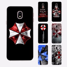 Umbrella Corporation Theme Resident Evil Thin Clear phone shell Case for Samsung J3 J7 2017 J5Prime J7Prime J510 J710 J2 2016 J1(China)