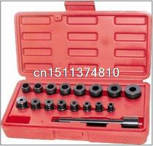 17pc Universal Clutch Aligning Tool Kit Car Pilot Bearing Set Alignment N008227(China)