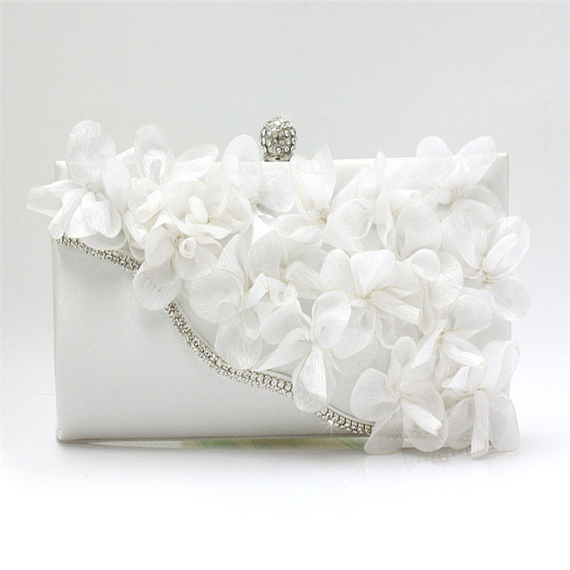 2017 Best Brand Gift Evening Bag Women Flower Bride Clutch Purse Dress Party handbag Wedding Clutch Ladies Shoulder Bags WY13<br><br>Aliexpress