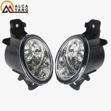 Malcayang Devil Eyes Car styling LED / Halogen Fog LIGHT Lights drl Refit 55W For Renault CLIO 2/II Box (SB0/1/2_) 1998-2004(China)