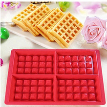 Long term supply of all kinds of 4 square lattice cake mold manual baking biscuits