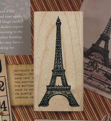 Free shippin Vintage classical parisThe Eiffel Tower wood scrapbooking stamp wholesale Gift stamping<br><br>Aliexpress