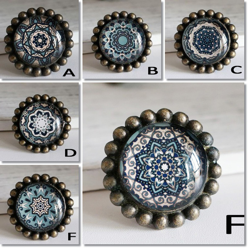 Crystal glass knobs for kid's room-4