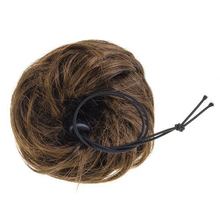 FS Hot Woman Hairpiece Hair Bun Wig Topknot Wigs Extensions - Light Brown