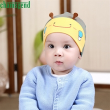 CHAMSGEND drop shipping snapback cap s hat kids children Cute Kid Baby Boy Girl Toddler Infant Hat Bee Beret Cap Feb7 S45(China)