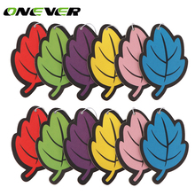 12pcs Car Perfume Paper Car Air Freshener Hanging Perfume Paper for Vehicle Boat(China)